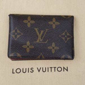 Louis Vuitton Auth. Card Holder